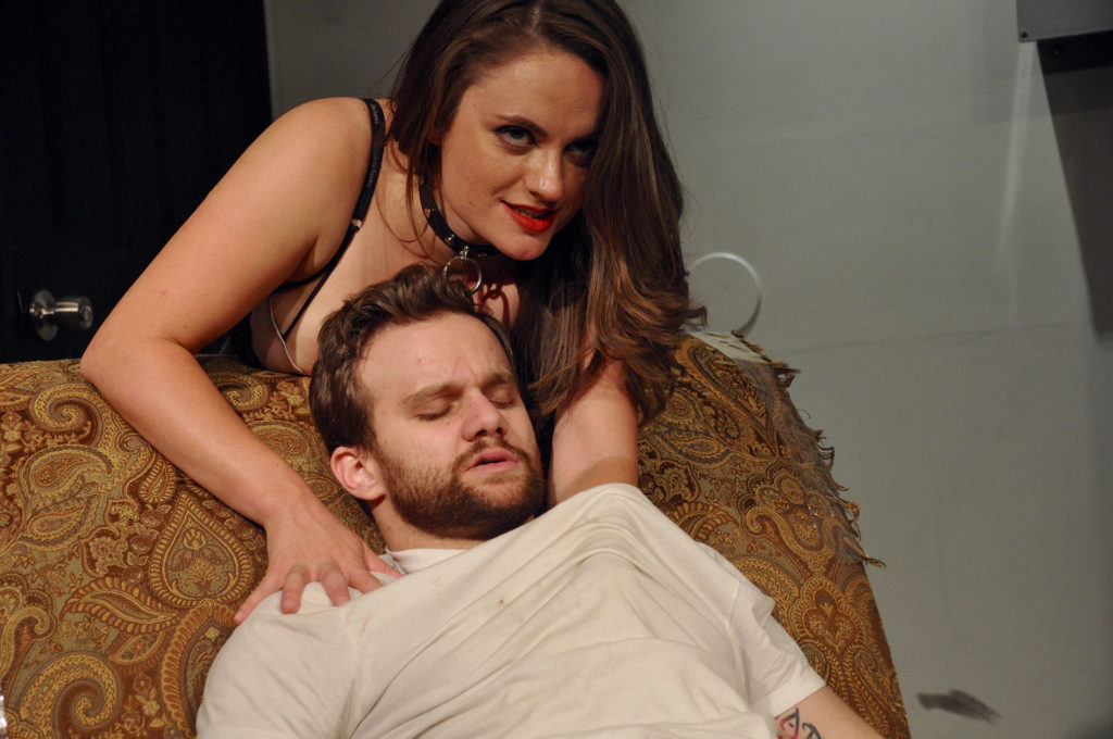 VENUS IN FUR: The Devil Inside (Starring Shanise Jordan and Zack Roundy. Directed by Pam Harbaugh)
