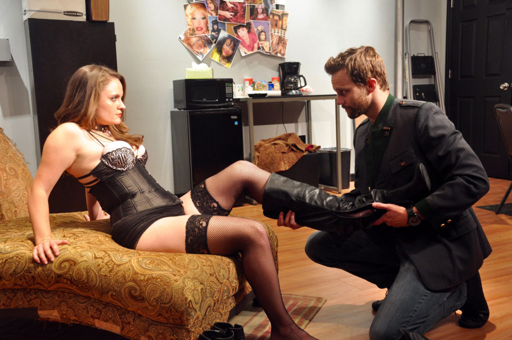 VENUS IN FUR: Let the games begin! (Starring Shanise Jordan and Zack Roundy. Directed by Pam Harbaugh)