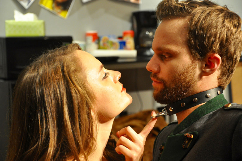 VENUS IN FUR: Be a good boy! (Starring Shanise Jordan and Zack Roundy. Directed by Pam Harbaugh)