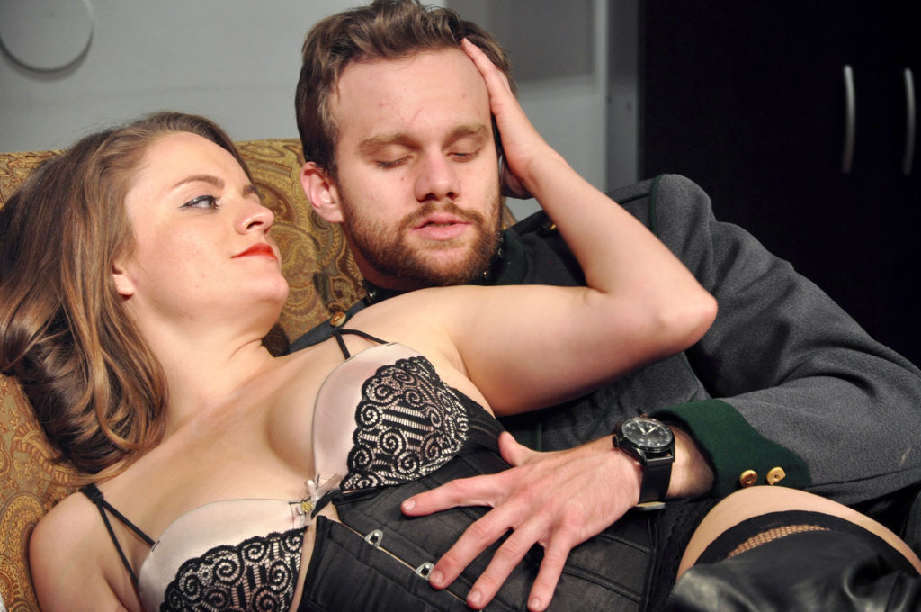 VENUS IN FUR: Seduction! (Starring Shanise Jordan and Zack Roundy. Directed by Pam Harbaugh)
