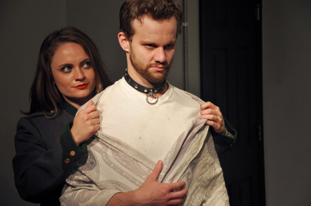 VENUS IN FUR: Revenge in the making (Starring Shanise Jordan and Zack Roundy. Directed by Pam Harbaugh)